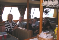 SAA Artists enjoying a boat ride