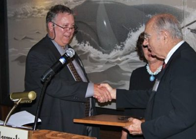 SAA 52nd award presentation Guy Cohleach
