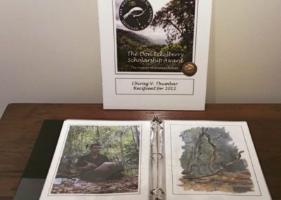 Display of the 2012 Eckelberry Award: Chirag V. Thumbar