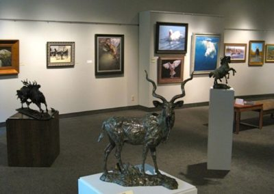 The 52nd Annual Exhibition Tour at Charles H. MacNider Art Museum, Mason City, IA (Courtesy of the Museum)
