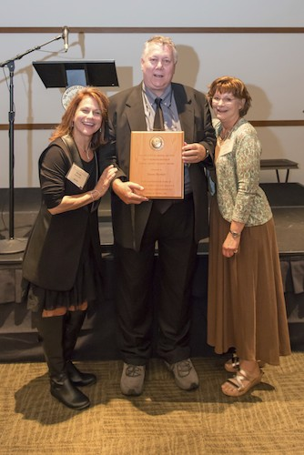 é Bemis, David Rankin (Holding his Bott-Borghi-Bransom Legacy Award) and Diane Mason