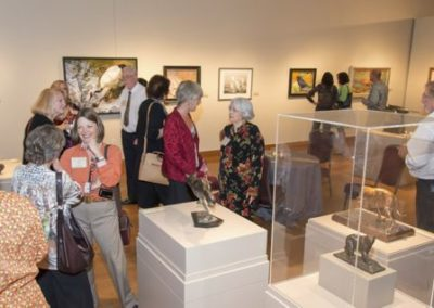 Artists and Patrons at the 54th Art and the Animal Opening Reception