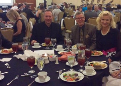 Enjoying the 56th Annual Awards Banquet