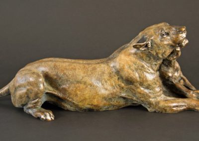Russell, Jocelyn - Ungwana Gentle Audubon Lioness and Cub