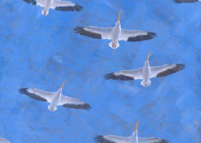 Radding, Kelly Leahy - Gliding Under A Gilded Sky